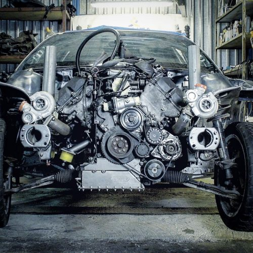BMW E46 M60/M62 V8 swap kit