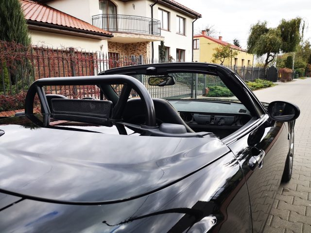 MX-5 NC roll bar for hard top