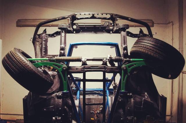 BMW E36 angle kit lock kit by Cybul Radical Solutions