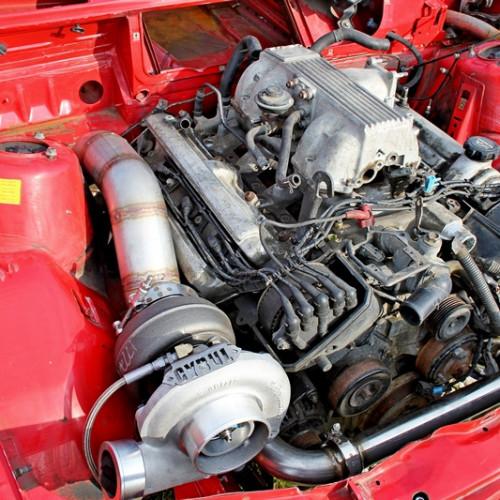 BMW E30 1UZ swap turbo by Cybul Radical Solutions