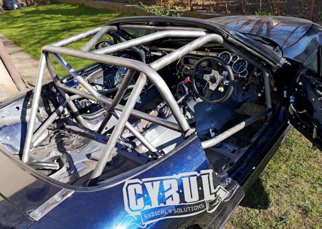 Mazda mx-5 NC roll cage by Cybul