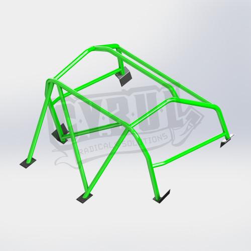 Mazda MX-5 NC roll cage by CYBUL