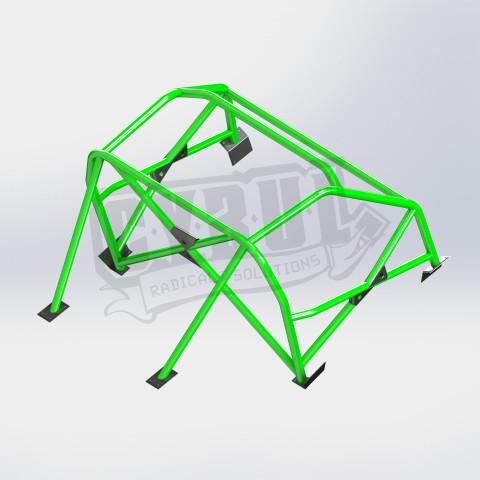 Mazda MX-5 NC roll cage by Cybul Radical Solutions