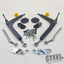 BMW E46 angle kit lock kit by Cybul Radical Solutions