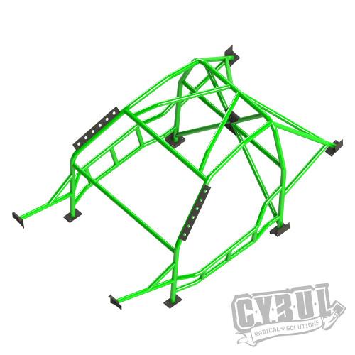 BMW 2 series F22 roll cage by Cybul Radical Solutions