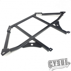 MX-5 NC lower rear strut bar by Cybul Radical Solutions