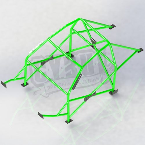 BMW E92 V3 roll cage by Cybul Radical Solutions
