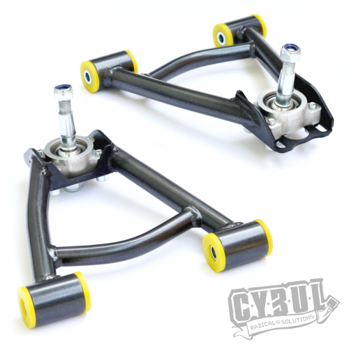 Mazda MX-5 ND front camber arms by Cybul Radical Solutions