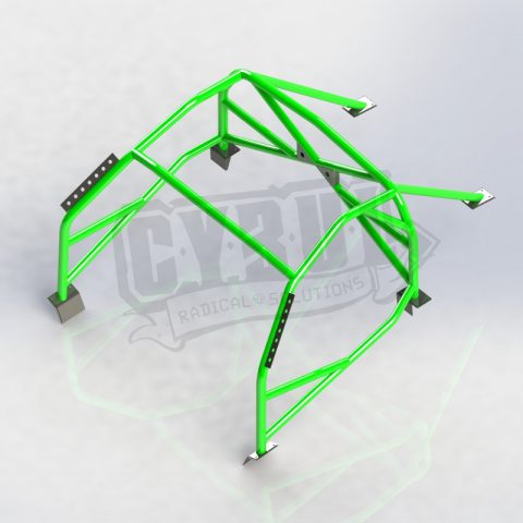 Mazda MX-5 NC PRHT V3 roll cage by Cybul Radical Solutions