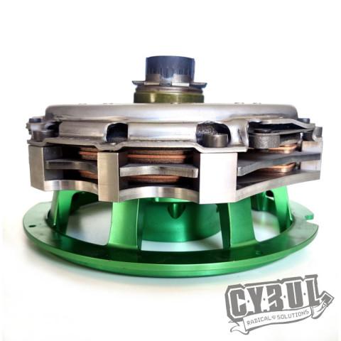 N62BXX twin disc clutch conversion kit to BMW M50/M52/M57 gearbox by Cybul Radical Solutions